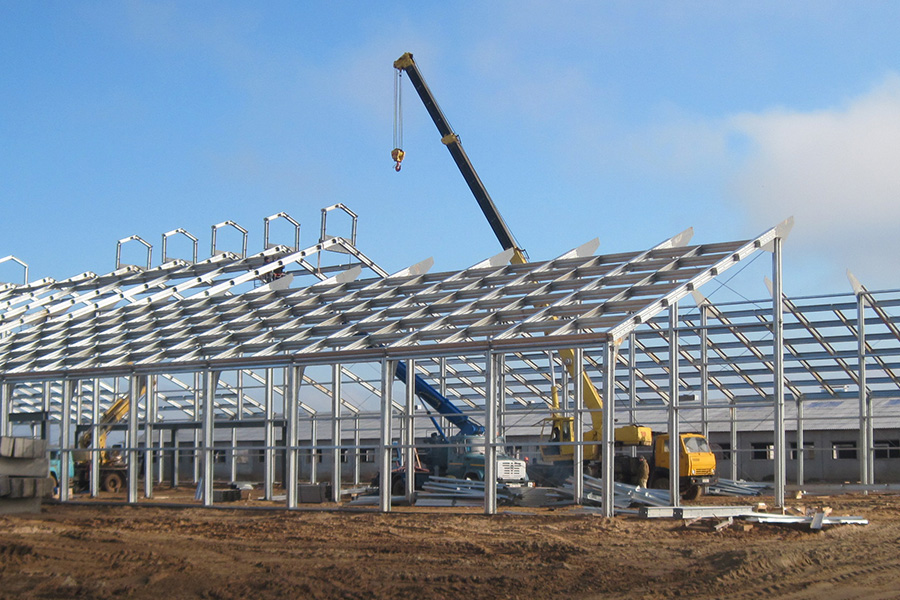 Огляд ринку будівельних металоконструкцій.