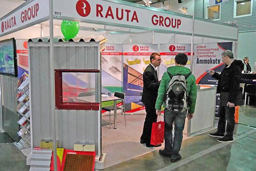 Технології Rauta представлені на виставці InterBudExpo 2016