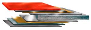 sandwich panels coating