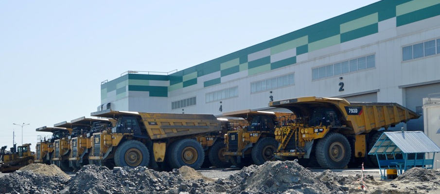 ЕГОК, строительство