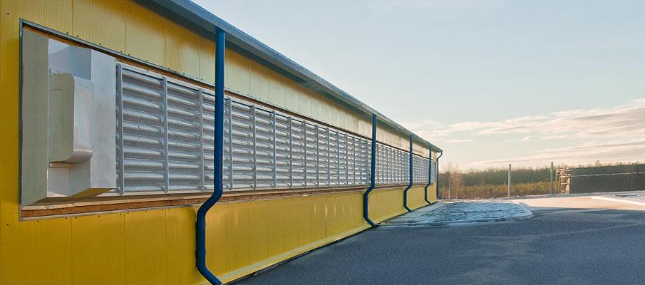 Сэндвич-панели и вентиляционные шторы