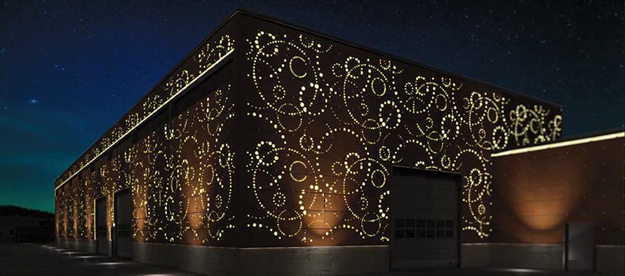 Уникальный фасад здания как визитная карточка бизнеса