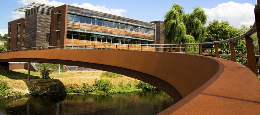 мост из стали кортен
