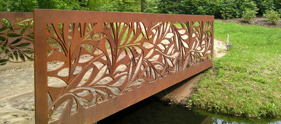 мост из кортен