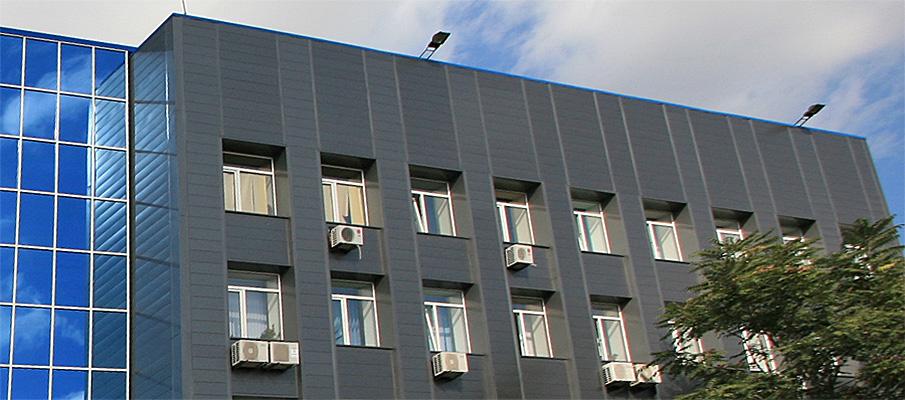 вентильовані фасади