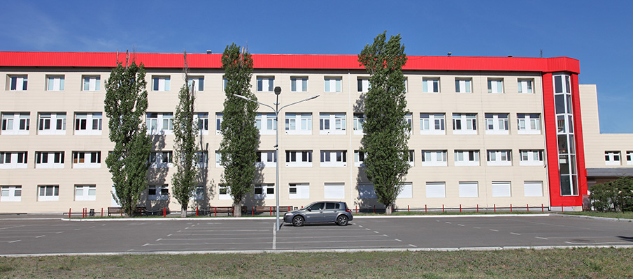 Ruukki ventilated facade
