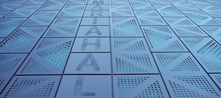 Ruukki Liberta perforated rainscreen panels