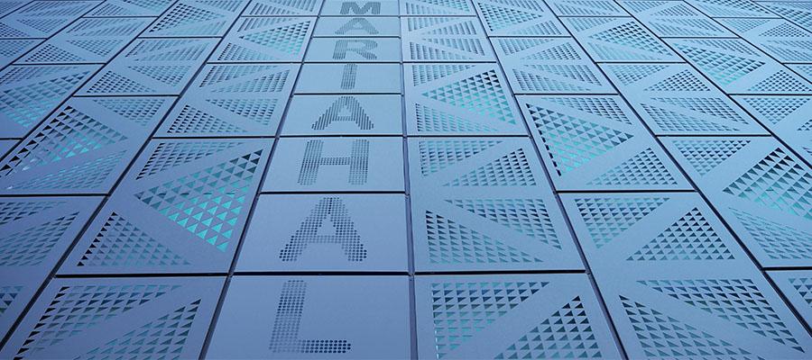 Вентилирыемые фасады с перфорацией