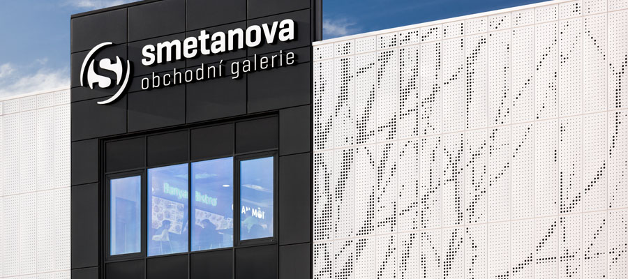 perforated facade cassettes