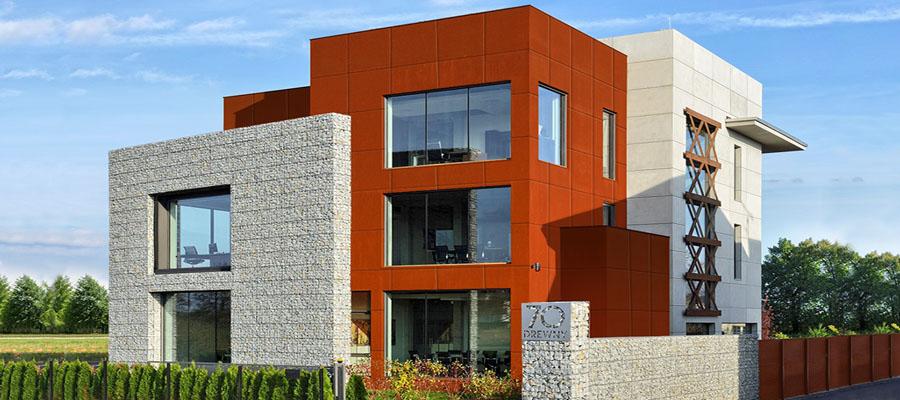 Идеи для создания современных зданий