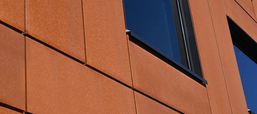 Cor-Ten facade