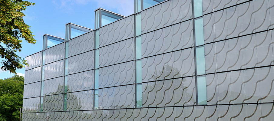 Ruukki Liberta Glass glazed rainscreen panels