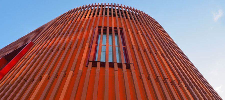 Фасадные ламели