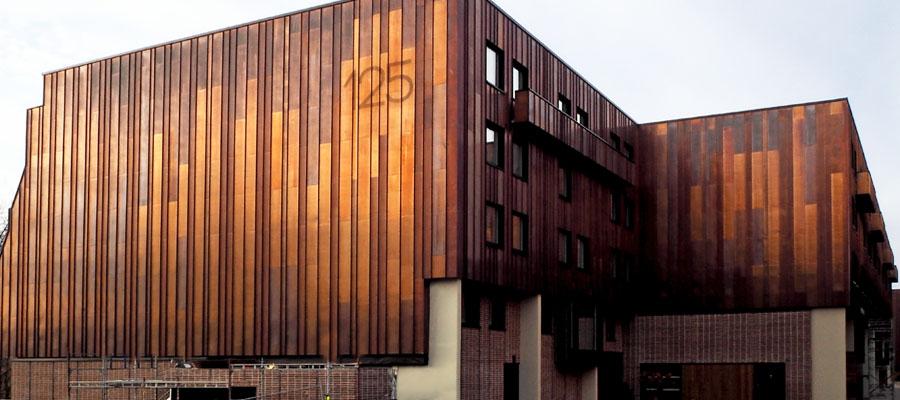 фасади з міді