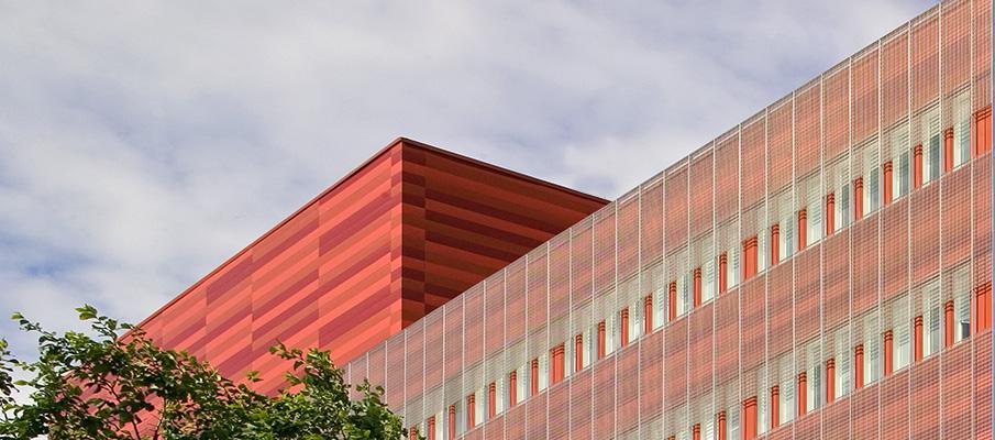 Ruukki façade lamellas