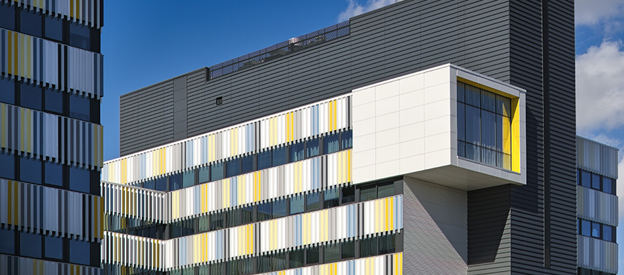 красивый вентилируемый фасад