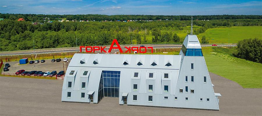 Гостиница Горка, Россия<br>Трапециевидный профиль Ruukki