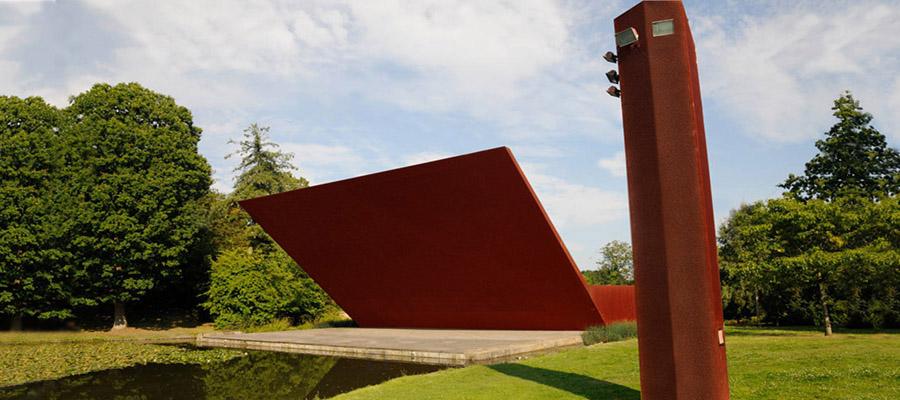 Открытая концертная площадка с облицовкой Кортен, Crystal Palace Park, Великобритания