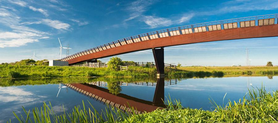 Мост Shanks Millennium, Великобритания