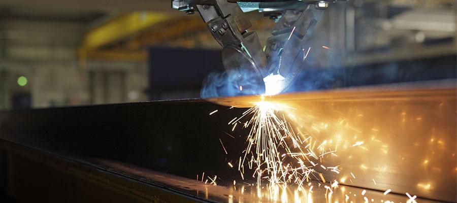 Cor-ten steel welding