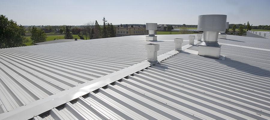 roofing Ruukki sandwich panels