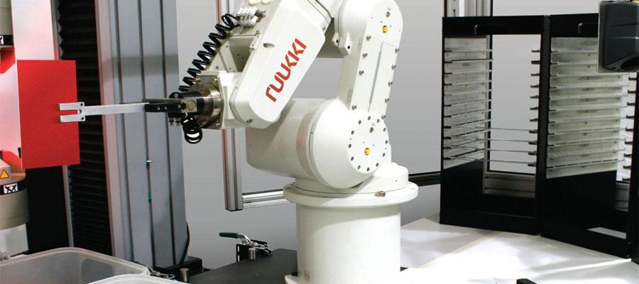 Ruukki robotized laboratory