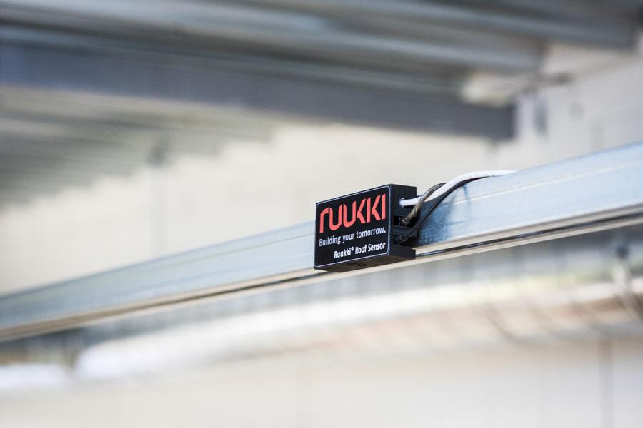 Ruukki Roof Sensor system