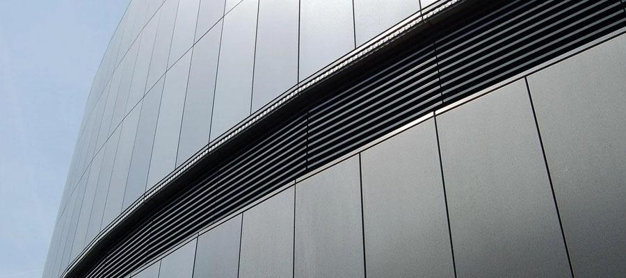 фасад из нержавеющей стали