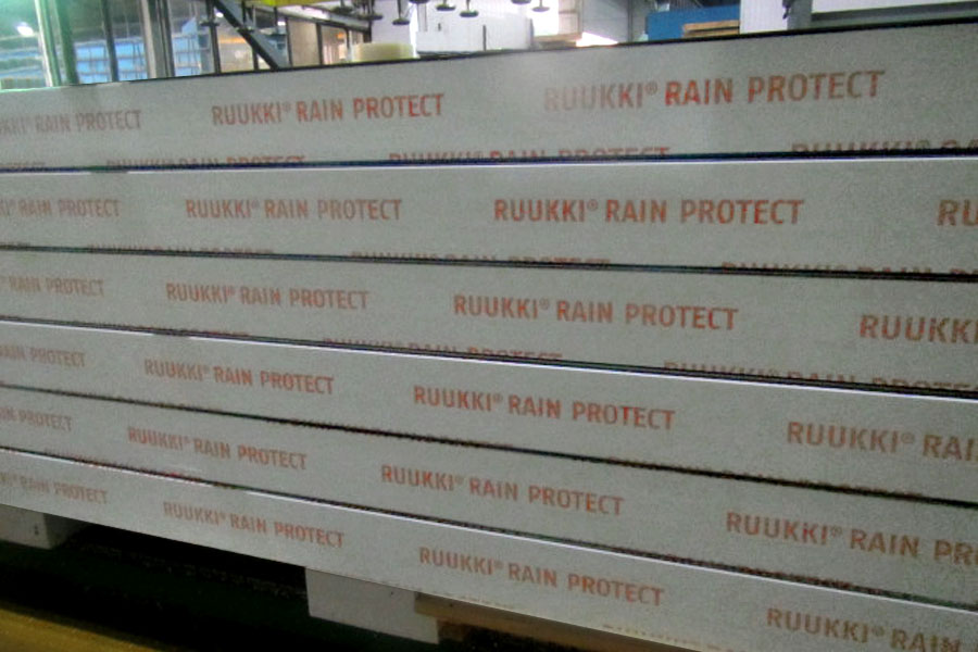 виробництво сендвіч-панелей з системою Ruukki Rain Protect