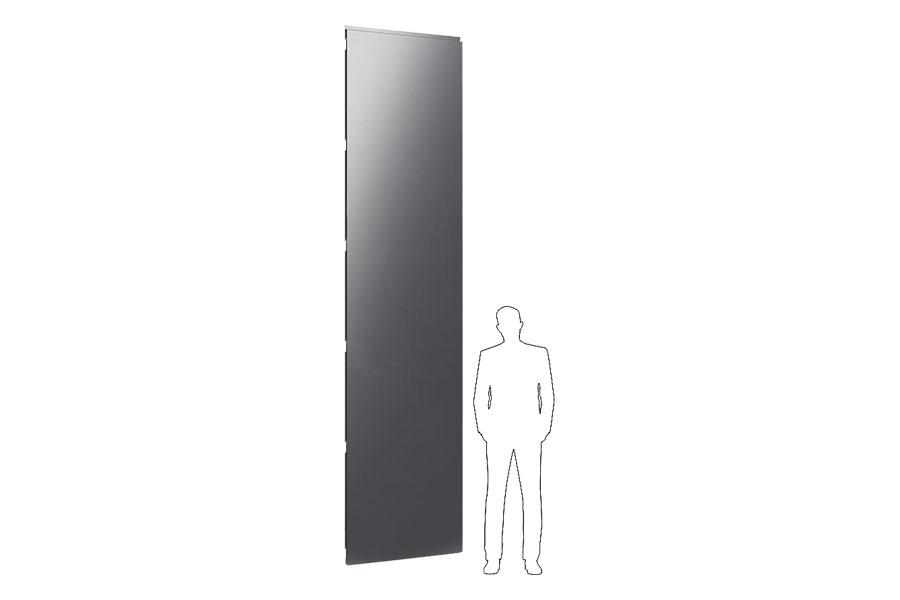 вертикальні фасадні касети великого розміру