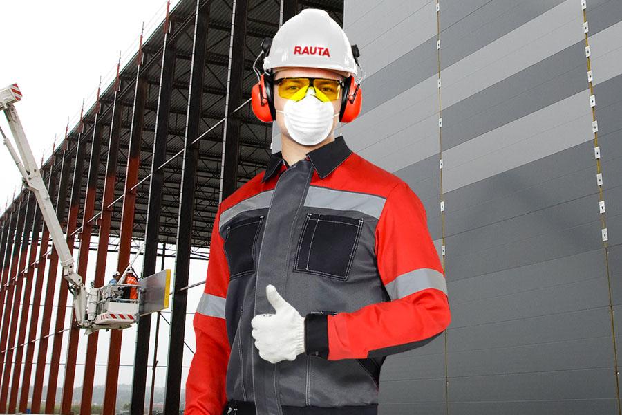 Rauta продолжает работу с заботой о здоровье сотрудников и партнёров
