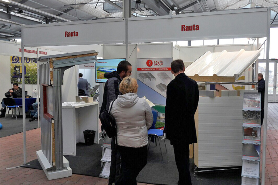 Rauta presents advanced solutions to farmers in southern Ukraine