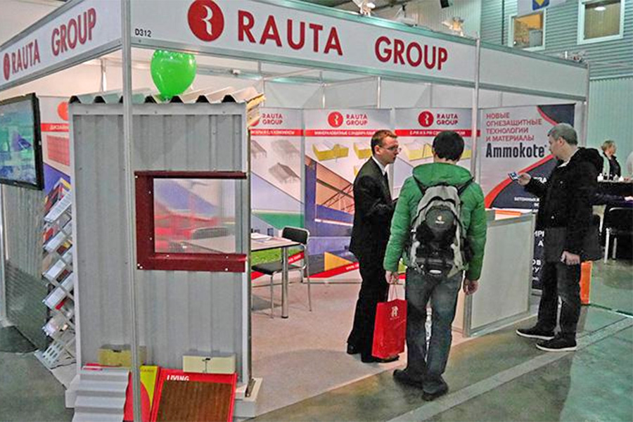 Rauta presents its technologies at InterBudExpo 2016