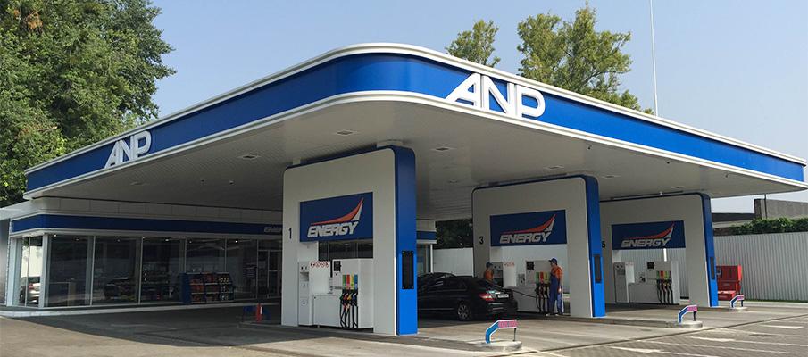 Sieć stacji paliw АNP