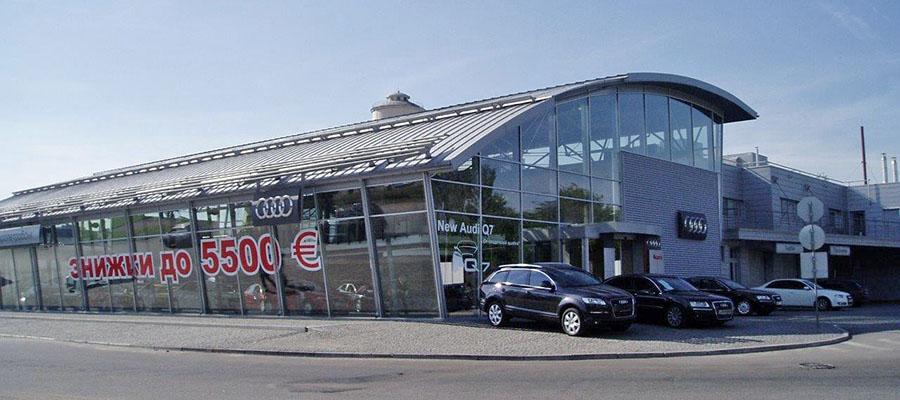 Salon samochodowy Audi Centrum Dnipro