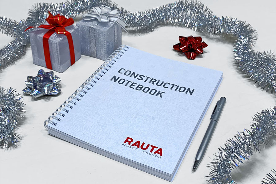 Darujemy Construction Notebook
