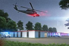 Rauta разработала проект мобильного госпиталя и готова осуществить строительство всего за 2 недели