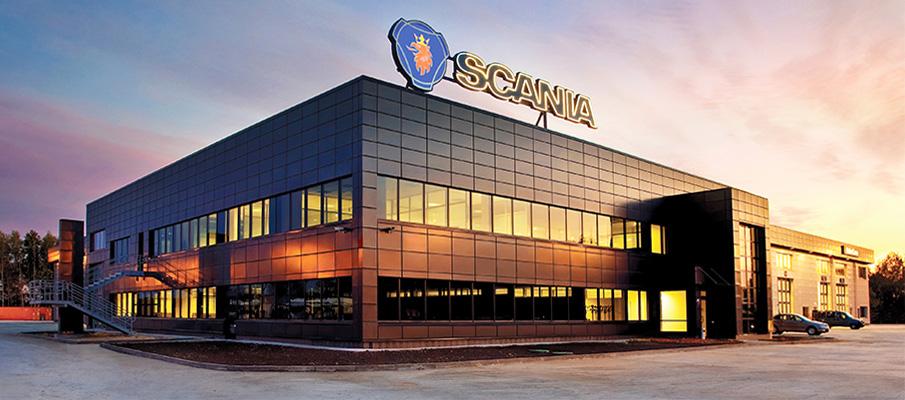 Stacja obsługi samochodowej Scania Kijów-Scan