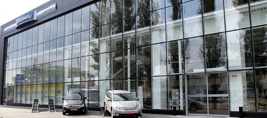 Salon samochodowy Subaru Intercyclon