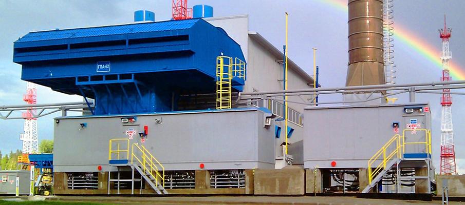 Gazprom Stacja ciśnień