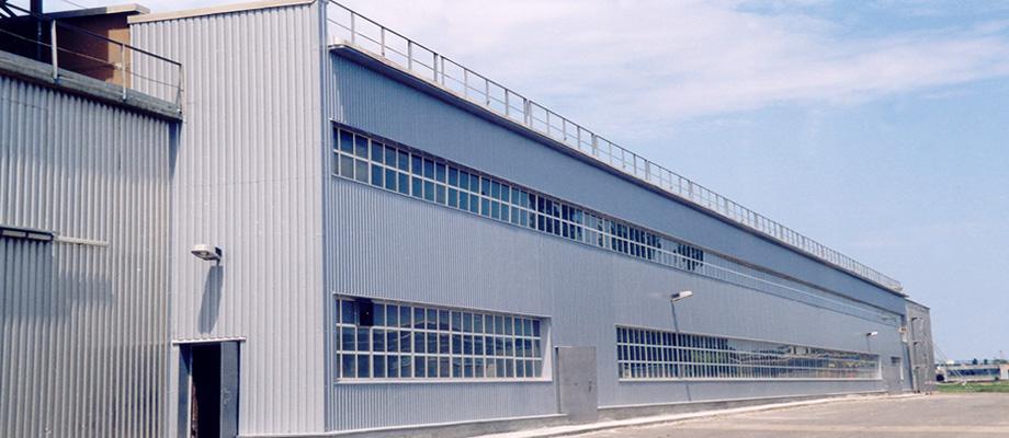 Odeska Fabryka Przyportowa Kasetony elewacyjne