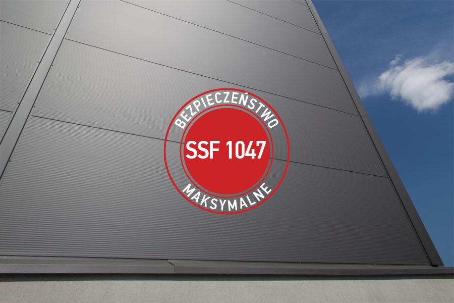 Płyty warstwowe Ruukki SSF 1047
