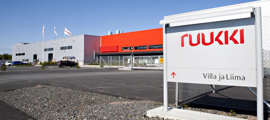 European Ruukki Plant