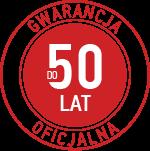 gwarancja oficjalna 50 lat