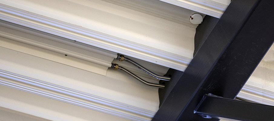 System sufitowy ogrzewania oraz klimatyzacji