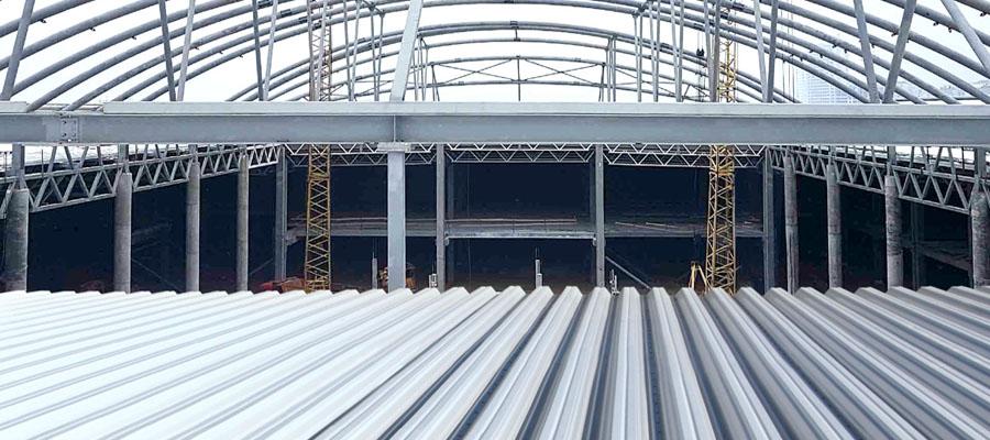 металоконструкції куполу Retroville