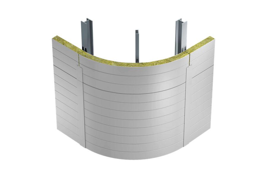 corner sandwich panels