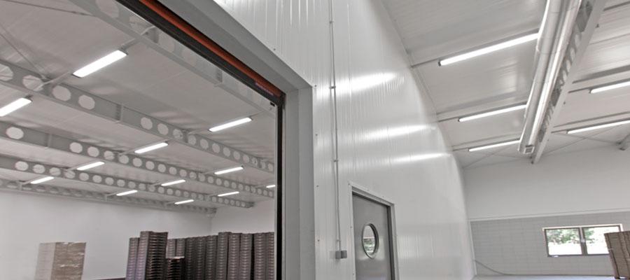 сендвіч панелі для холодильних камер