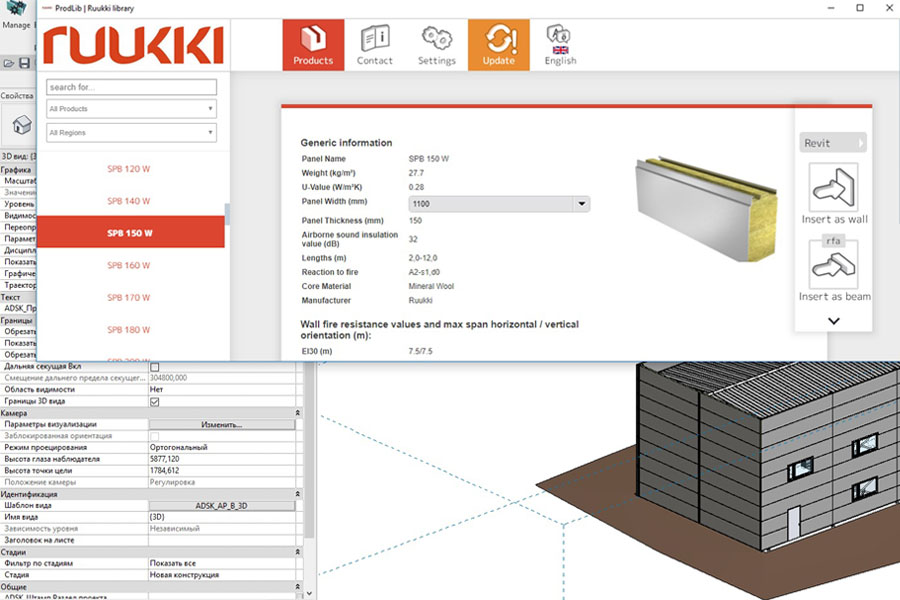 On 10th of March, a webinar on BIM design in Revit using Ruukki libraries will take place