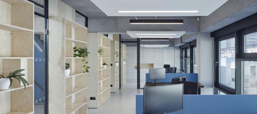 бетонные конструкции интерьер